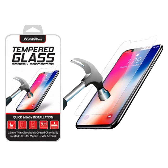 Advanced Accessories iPhone XS Max/11 Pro Max Tempered Glass Screen Protector