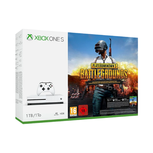 Xbox One S 1TB Console PlayerUnknown's Battlegrounds Bundle