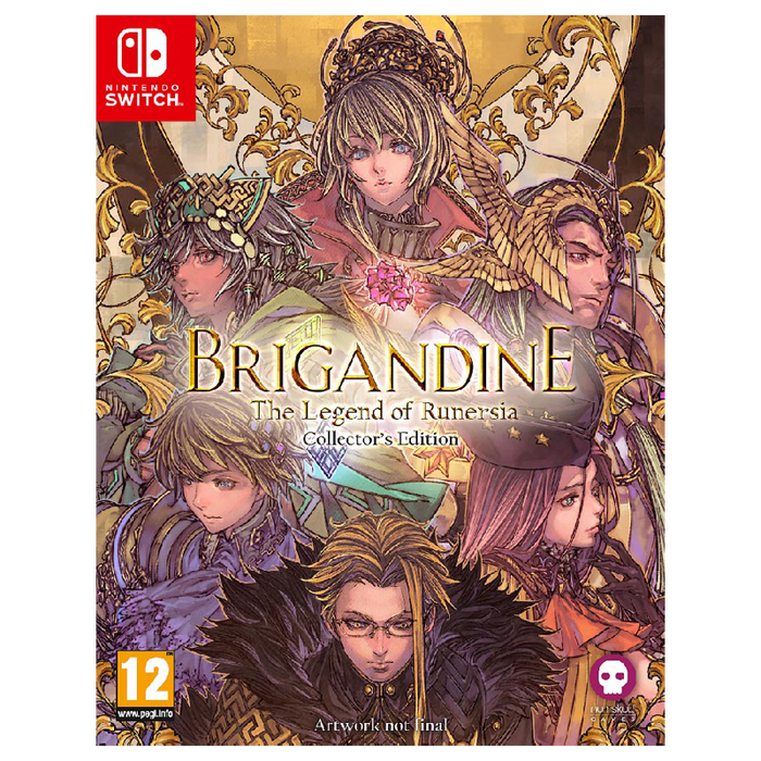 Brigandine: The Legend of Runersia - Collector's Edition