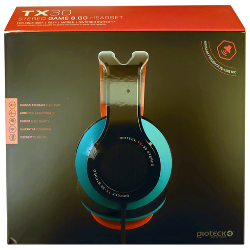 Gioteck TX-30 Stereo Wired Headset - Neon