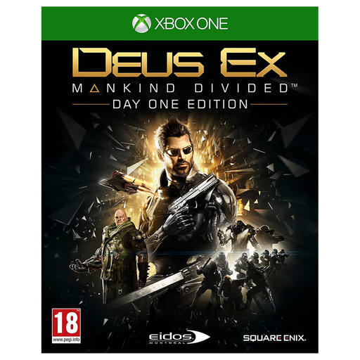 Deus Ex Mankind Divided - Day One Edition