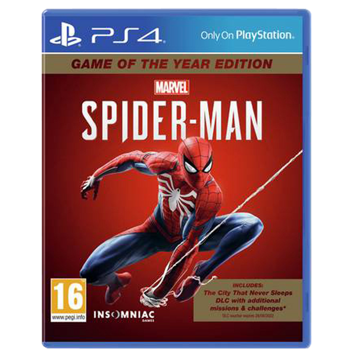 Marvel's Spider-Man GOTY Edition
