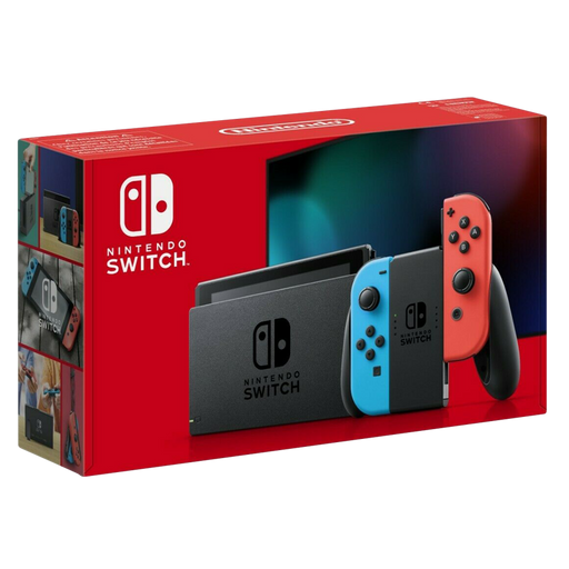 Nintendo Switch Neon Red - Neon Blue 1.1 Extended Battery Life Console