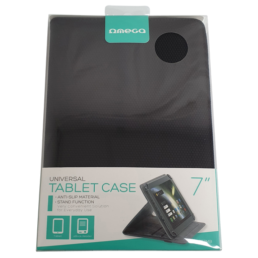 "Omega Universal 7"" Tablet Case and Stand"