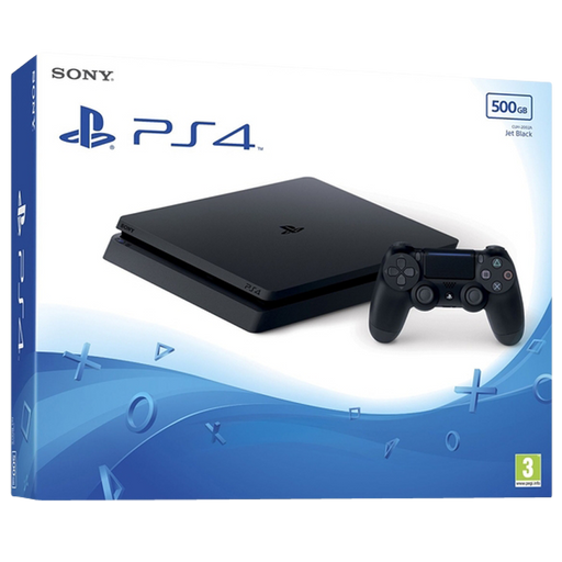 PlayStation 4 Slim F-Chassis 500GB Console