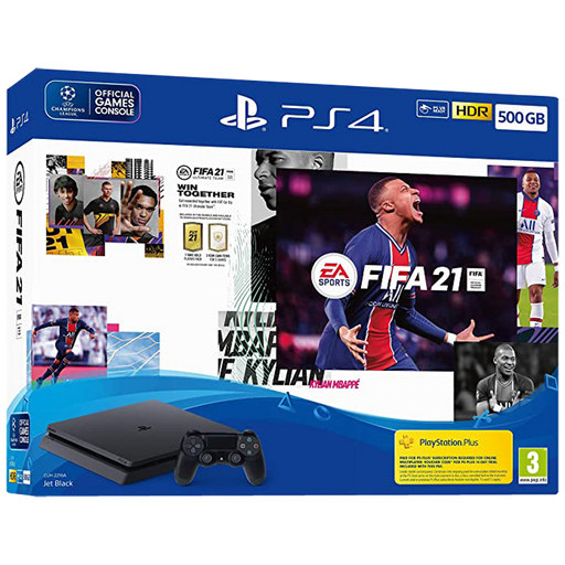 PlayStation 4 500GB FIFA 21 Console Bundle
