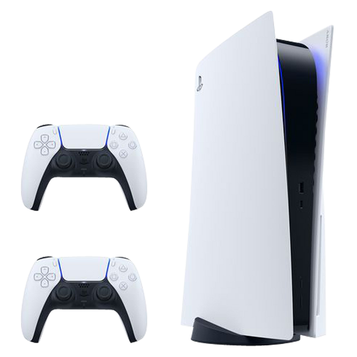 PlayStation 5 + Additional Dualsense Wireless Controller