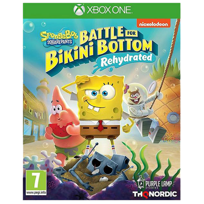 SpongeBob SquarePants: Battle For The Bikini Bottom - Rehydrated