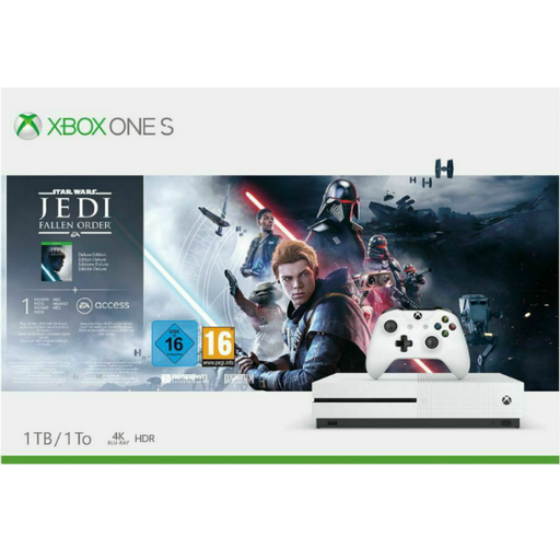 Xbox One S 1TB: Star Wars Jedi Fallen Order Bundle