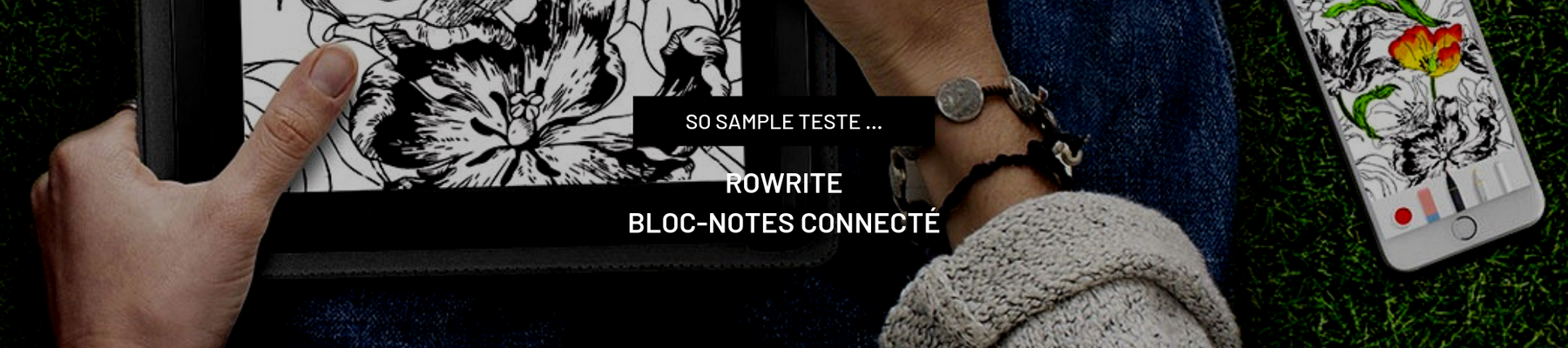 Test de RoWrite, le bloc-notes connecté