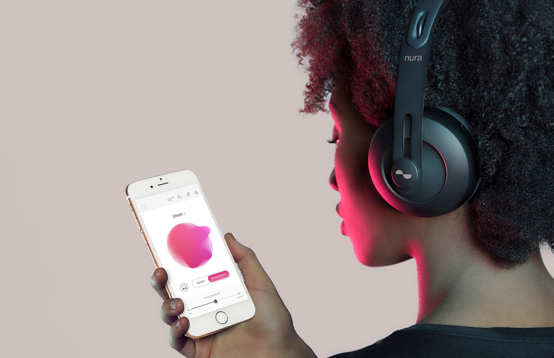 Nuraphone - Casque audio bluetooth qui s'adapte à votre audition.
