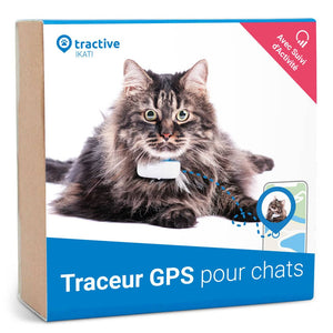 Tractive IKATI - Traceur GPS pour chats
