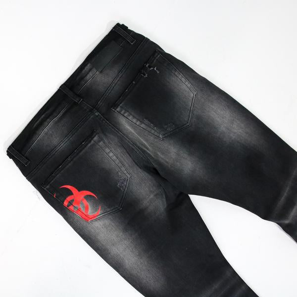 CAUTION DENIM Darkwash