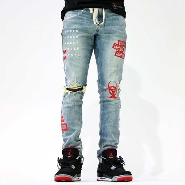 CAUTION DENIM Lightwash