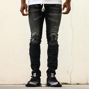 RIP N REPAIR DENIM - Black