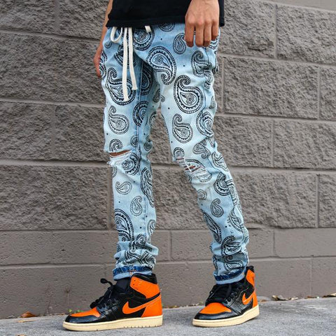 PAISLEY DENIM
