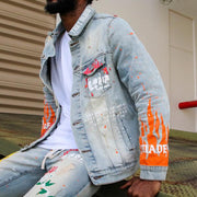 LAFLAME DENIM JACKET