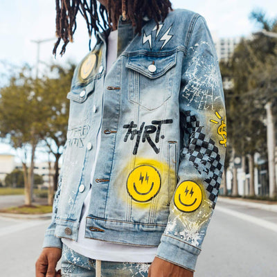 Shattered Dreams Jacket Yellow