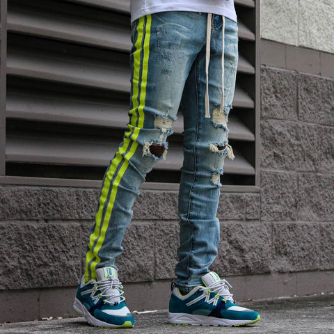 GUNNA DENIM BLUE