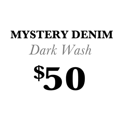 Mystery Denim-Dark Wash