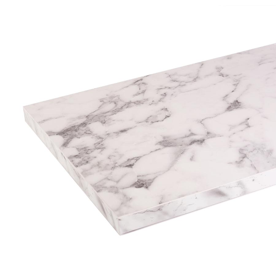 White, Silk Matt - Marble Shelf