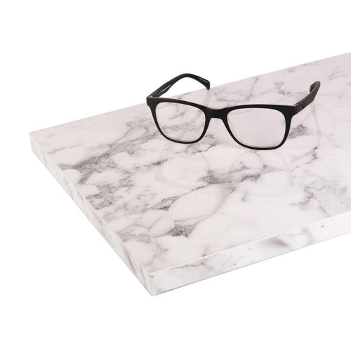 White, High Gloss - Marble Table Top