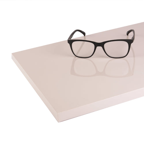 Cashmere, High Gloss - White Table Top
