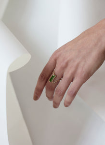Elea Ring with Serpentine