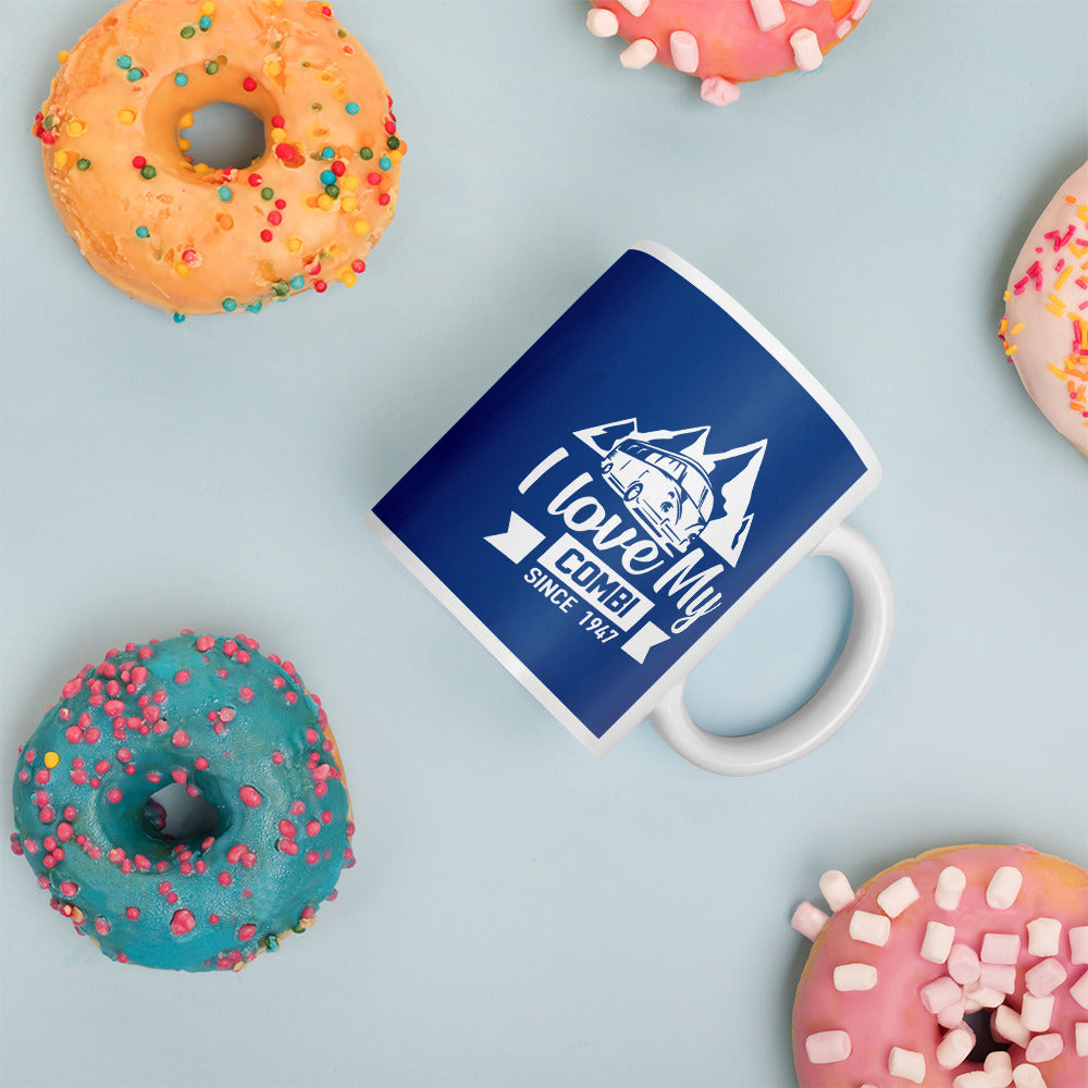 MUG - I LOVE MY COMBI - BLUE EDITION