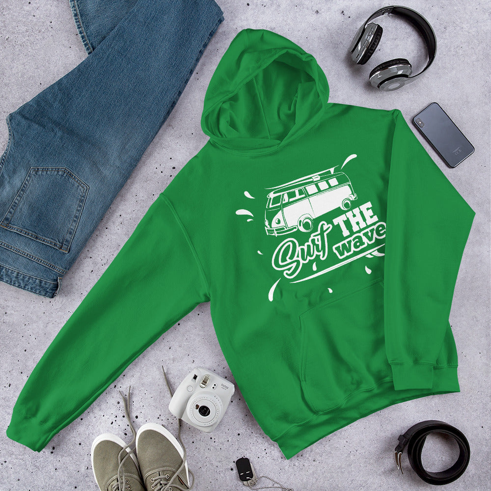ILOVEMYCOMBI - SURF THE WAVE - HOODIE EDITION