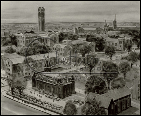 Vanderbilt Campus Drawing
