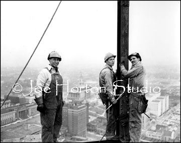 Life & Casualty Tower Construction, circa mid 1950's