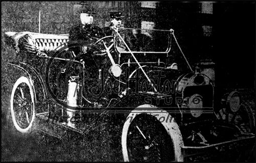 Fire Chief in 1910 Marathon Motorcar