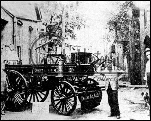 Horse-Drawn Fire Wagon