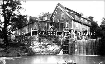 Old Mill in Calhoun, Tennessee, circa 1930's