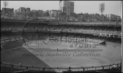 Inside Ebbets Field Stadium