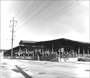 Nashville Stock-yards, circa 1975 - Full view of corrals