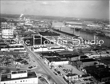 The Nashville Stock-yard area - circa 1975