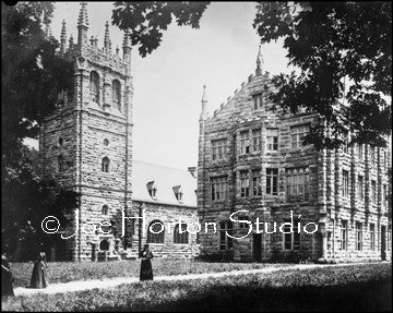 Scarritt College - Ladies in long dresses