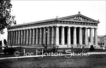 Parthenon West Front - circa 1897