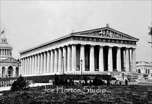 Parthenon East Front - circa 1897