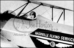 Nashville Flying Service Biplane