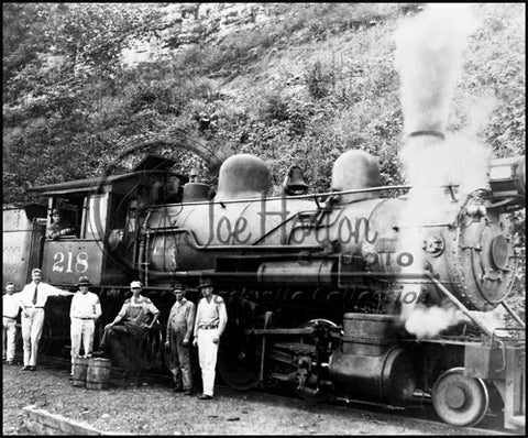 TC Engine No. 218 at Carthage