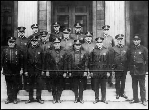 Group of Nashville Policemen