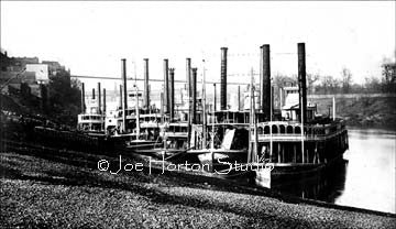Steamboats at the Wharf