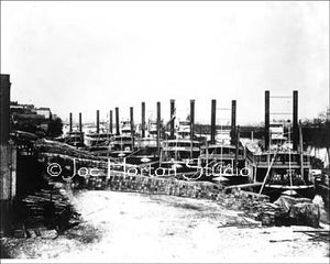 Union Supply Boats during the Occupation of Nashville