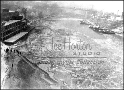 Frozen Cumberland River - Blizzard of 1951