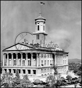 State Capitol in the 40s