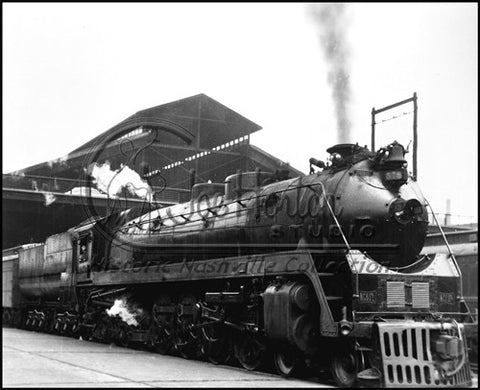 TC Locomotive No. 578 at Union Station