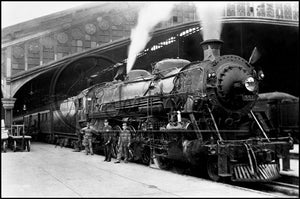 NC&St.L Engine No. 551 at Union Station